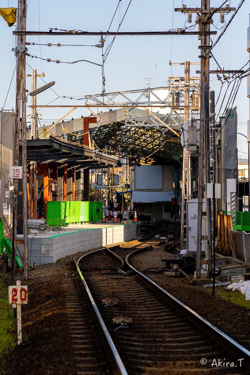 嵐電 北野白梅町駅..._f0152550_21453700.jpg