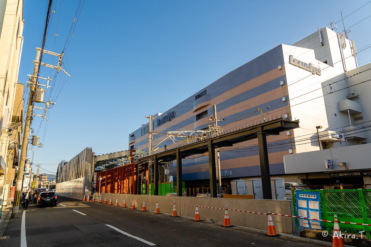 嵐電 北野白梅町駅..._f0152550_21455050.jpg