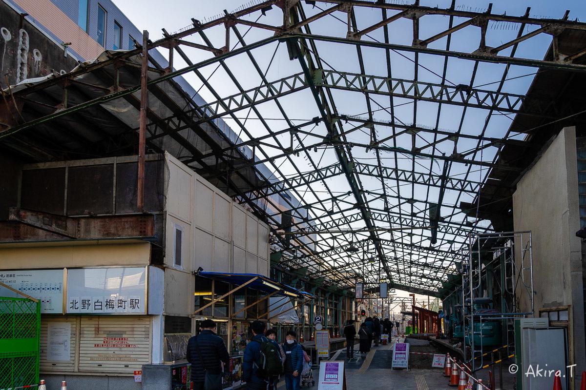 嵐電 北野白梅町駅..._f0152550_21490351.jpg