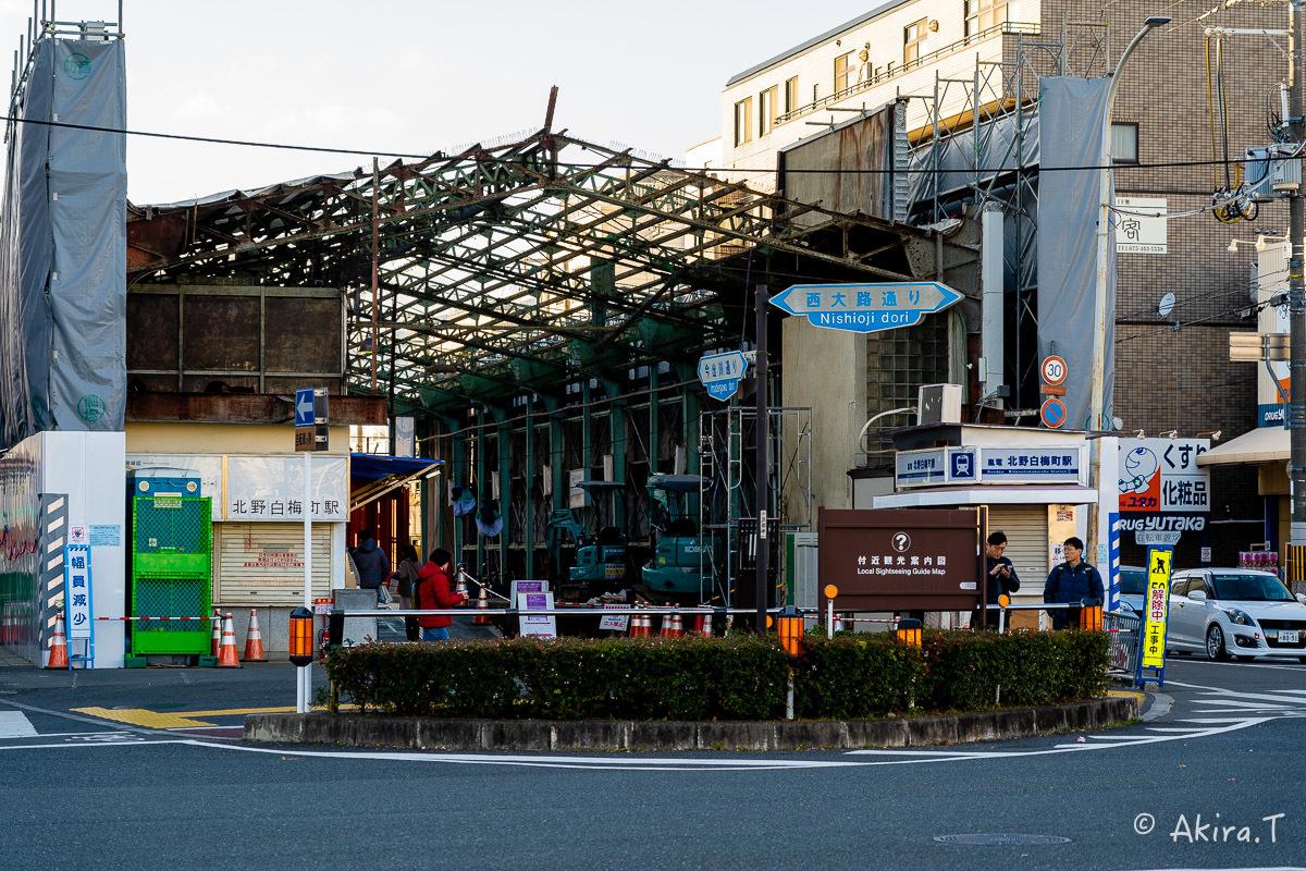 嵐電 北野白梅町駅..._f0152550_21504649.jpg
