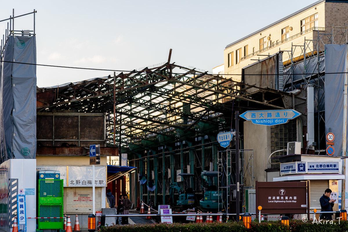 嵐電 北野白梅町駅..._f0152550_21510366.jpg