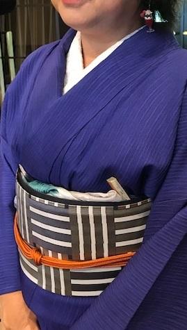 11周年・ご夫妻でお越しのお客様・木屋太さんの着物と帯。_f0181251_16032304.jpg