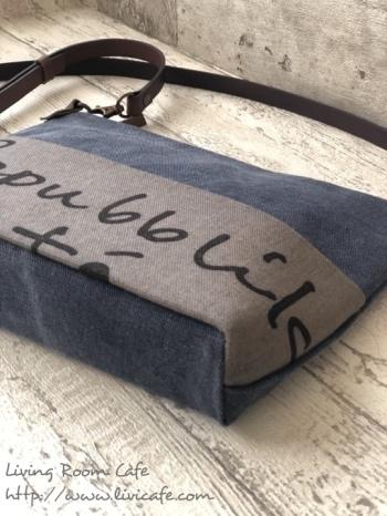縫わない薄型ショルダーバッグ 片面ポケット付き_e0040957_11023911.jpeg
