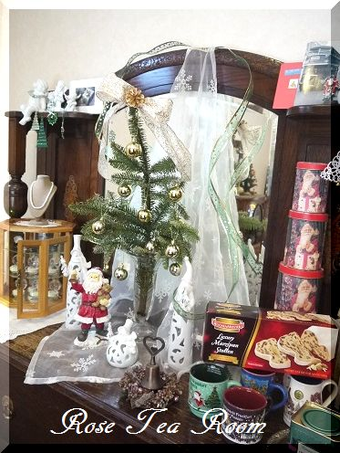 癒し空間! 素敵なクリスマス~♪_a0159974_1063765.jpg