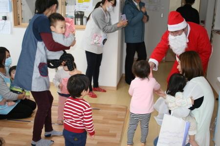 よこて卸町園『クリスマス会』を開催しました。_f0141477_13110132.jpg