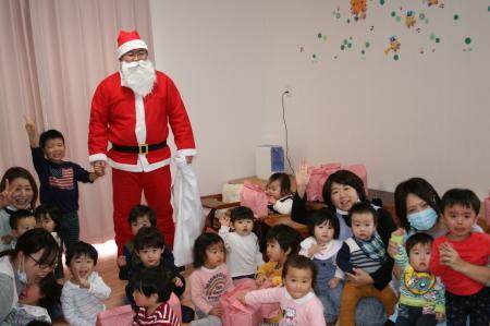 よこて卸町園『クリスマス会』を開催しました。_f0141477_13112841.jpg