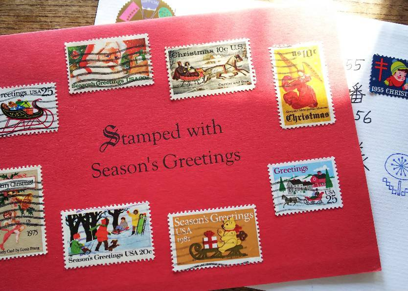 クリスマスの切手_e0303187_22331148.jpg