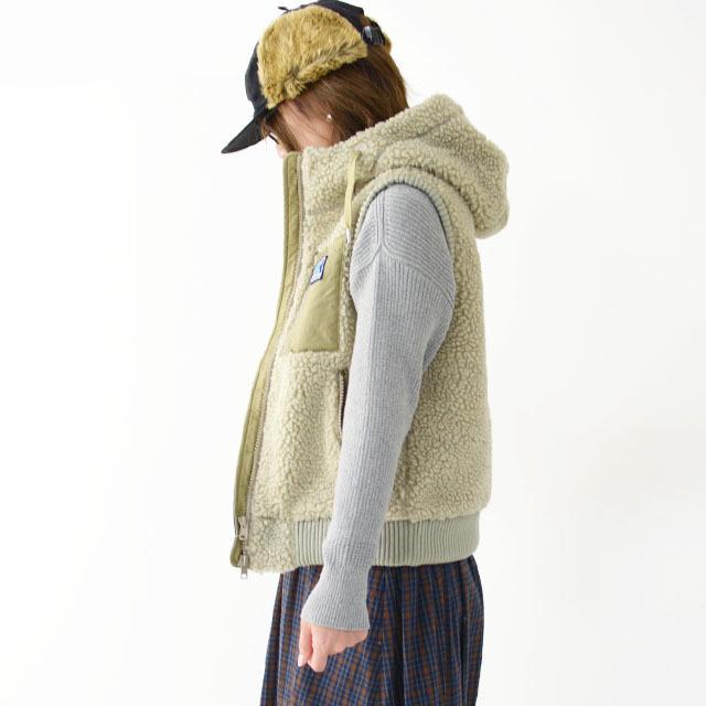 HELLY HANSEN [ヘリーハンセン] W\'s FIBERPILE THERMO Vest [HOE51966] ファイバーパイルサーモベスト(レディース)・フリースベスト・フードベスト・_f0051306_18162139.jpg