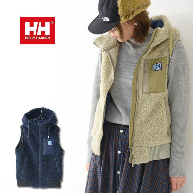 HELLY HANSEN [ヘリーハンセン] W\'s FIBERPILE THERMO Vest [HOE51966] ファイバーパイルサーモベスト(レディース)・フリースベスト・フードベスト・_f0051306_18162159.jpg
