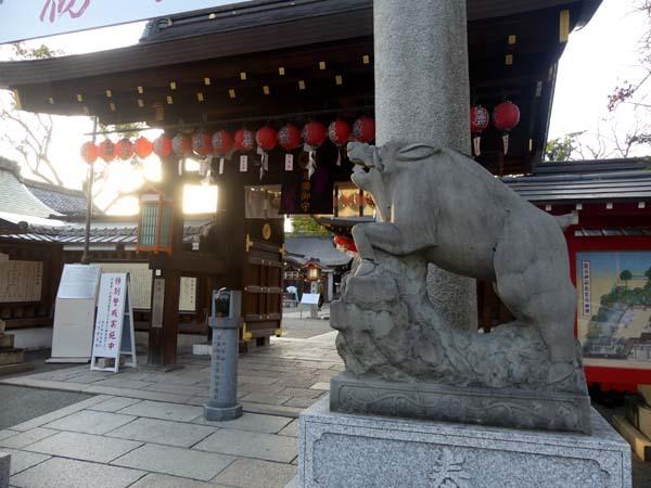 令和元年 亥年を送る 「護王神社」_e0048413_21493426.jpg