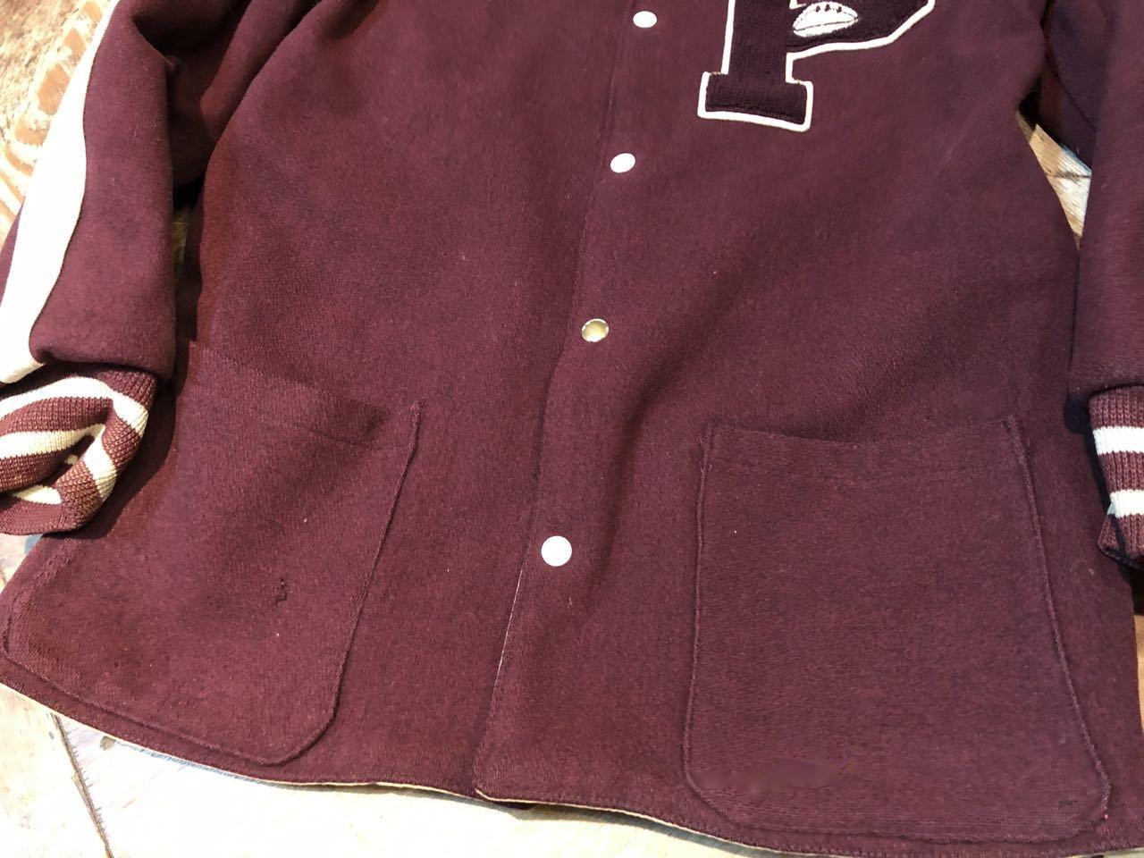 12月27日(金)入荷!60s リバーシブル パチポケ Varsity Jacket!! スタジャン!_c0144020_13321727.jpg