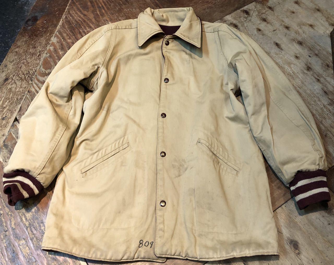 12月27日(金)入荷!60s リバーシブル パチポケ Varsity Jacket!! スタジャン!_c0144020_13322073.jpg