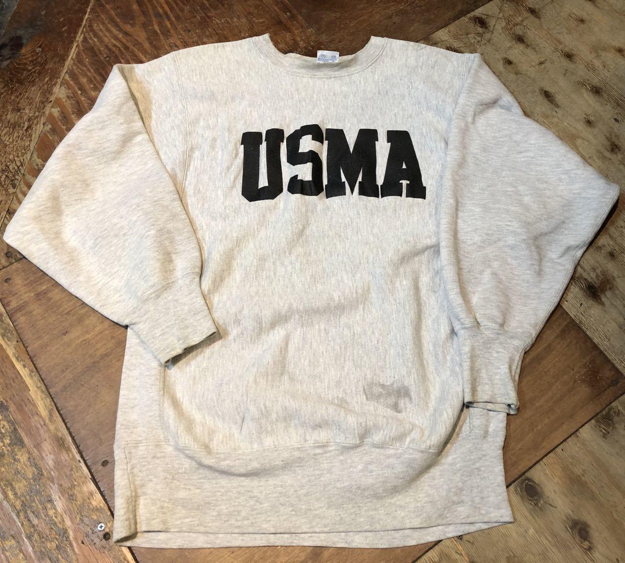12月28日(土)入荷!90s U.S.M.A チャンピオン champion reverseweave スエットシャツ!_c0144020_19231498.jpg