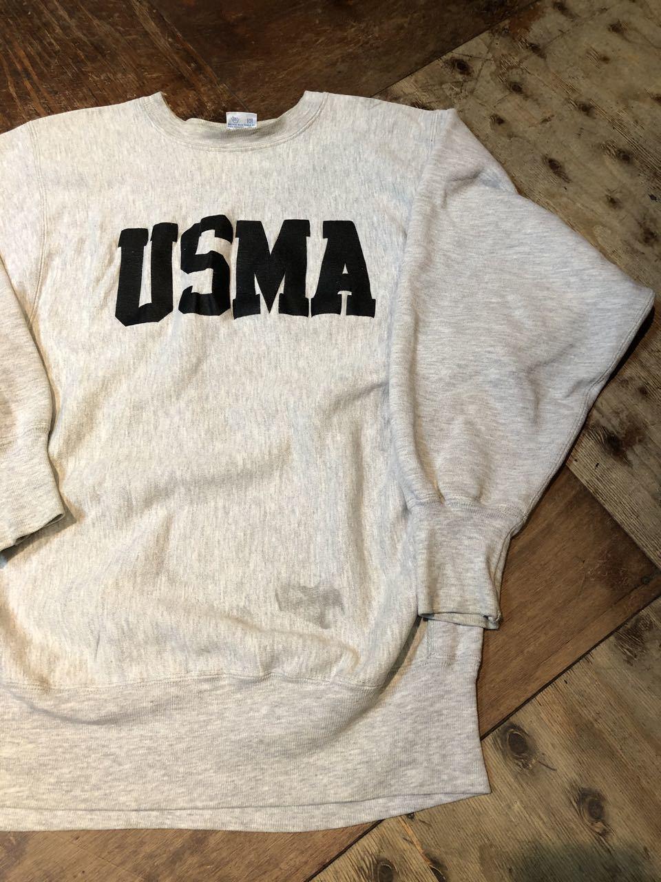 12月28日(土)入荷!90s U.S.M.A チャンピオン champion reverseweave スエットシャツ!_c0144020_19231721.jpg