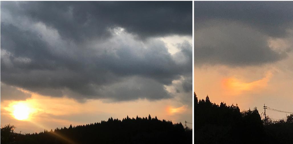 【瞬間的*熊本の旅】噴煙を上げる阿蘇山『中岳』とカルデラ在住の「牛」とサヨナラの「彩雲」!_d0018646_02253583.jpg