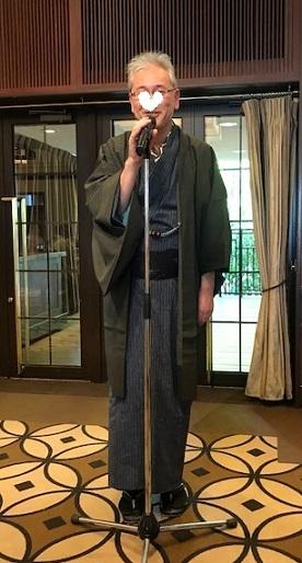 11周年・ぼよさんご夫妻・中村乃武夫さん訪問着・龍の帯。_f0181251_16401811.jpg