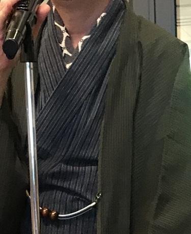 11周年・ぼよさんご夫妻・中村乃武夫さん訪問着・龍の帯。_f0181251_16433276.jpg