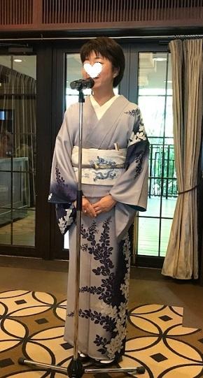 11周年・ぼよさんご夫妻・中村乃武夫さん訪問着・龍の帯。_f0181251_16541655.jpg