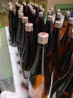 吟醸むろ掃除&「特別純米GOLDラベル」酒カップ瓶詰など_d0007957_22231063.jpg
