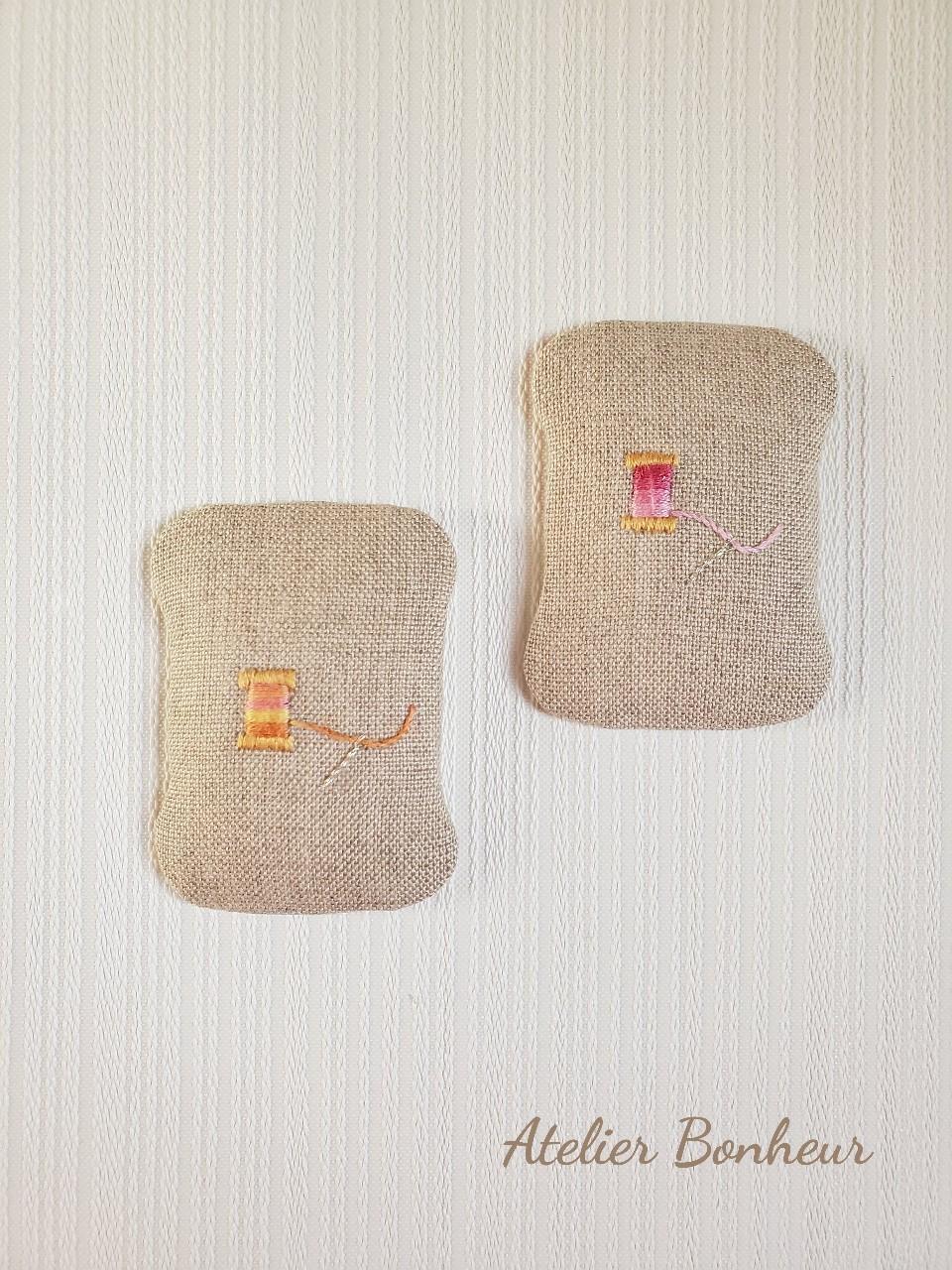 幸せ色のカルトナージュ カード型ピンクション_a0075065_06054109.jpg