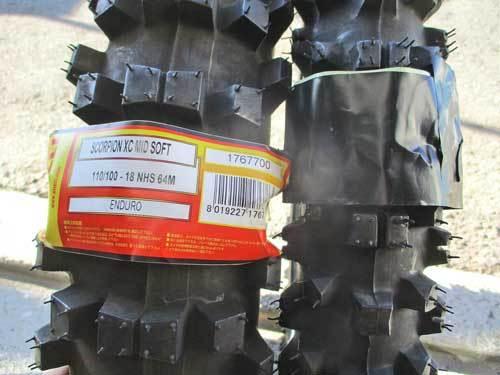 中古車 セロー225Wのタイヤ交換でシェイクダウンの準備完了ーー!(^O^)/_c0086965_17561880.jpg