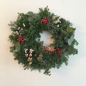 Un Jourの「 クリスマスの花あそび 2019後編 」_b0241386_23092354.jpg