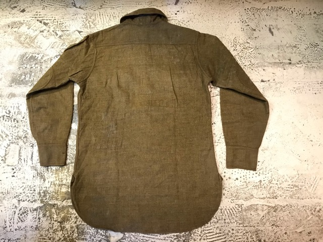大量投入!!WWI U.S.Army ドゥーボーイシャツ!!(マグネッツ大阪アメ村店)_c0078587_23474889.jpg