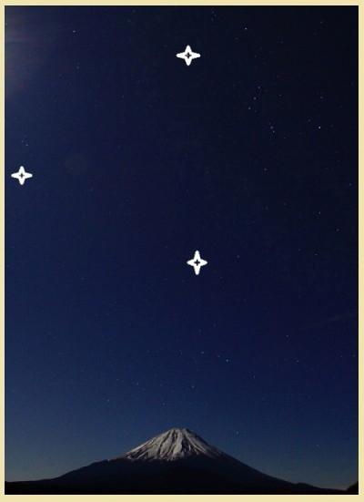 令和元年12月の富士 (19) 精進湖の夜空と富士_e0344396_15520198.jpg