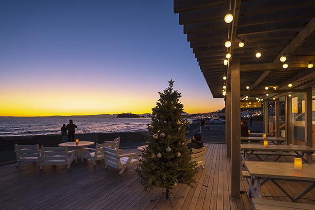 七里ヶ浜海岸 愛いっぱいのクリスマス_b0145398_23041364.jpg