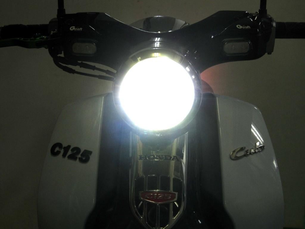 C125 クラシカルLEDライトキット_f0061705_16243713.jpg