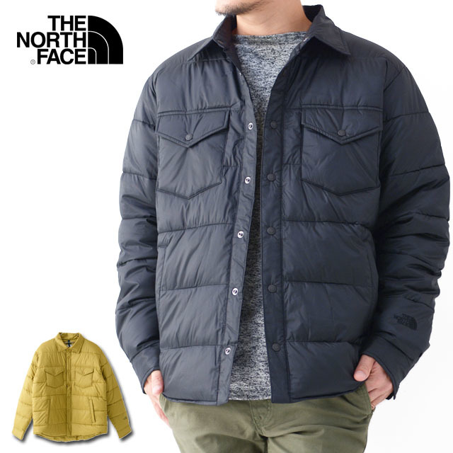 THE NORTH FACE [ザ ノースフェイス正規代理店] Camp Sierra Stuffed Shirt [NY81933] キャンプシエラスタッフドシャツ・ MEN\'S _f0051306_15173168.jpg