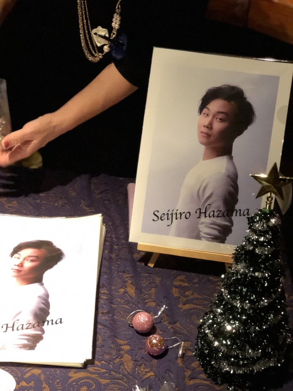 Seijiro Hazama Christmas & Birthdayソロライブ vol.4 @STAR PINES CAFE  12月21日(土)_a0157409_13240458.jpeg