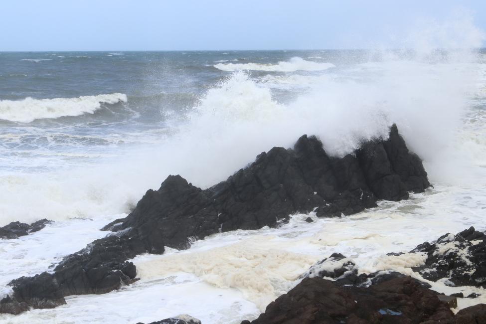 台風19号接近 - 2019年・男鹿線 -_b0190710_20101783.jpg