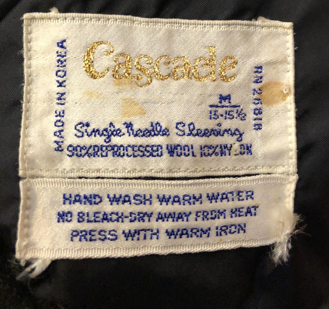 12月29日(日)入荷!60s〜オンブレ オープンカラーウールシャツ wool shirts!_c0144020_19264145.jpg