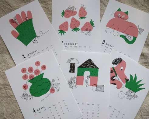 カレンダーのお知らせ6(牧野伊三夫/yamyam/ミロコマチコ)_a0265743_22481375.jpg