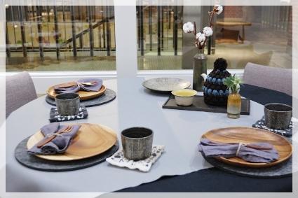 木の器のある冬の日のテーブル♪ ~インストラクタークラス_d0217944_17300676.jpg