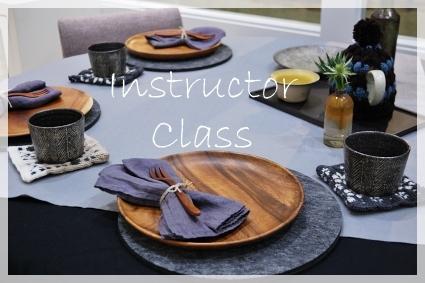 木の器のある冬の日のテーブル♪ ~インストラクタークラス_d0217944_17303276.jpg