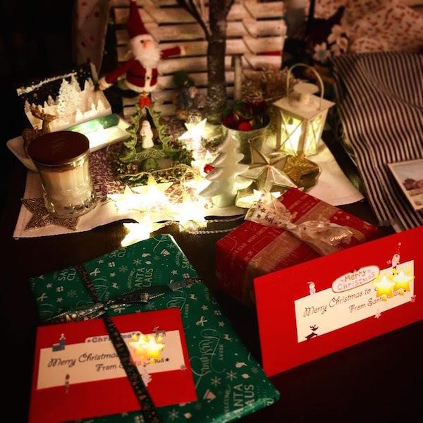 レースヤーンボウルとクリスマスプレゼント。_f0089355_23463654.jpg