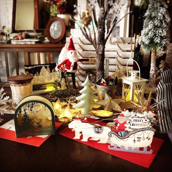 レースヤーンボウルとクリスマスプレゼント。_f0089355_23464062.jpg