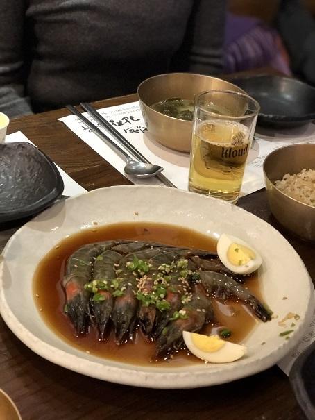 ソウルで絶品のエビを食べに行くよう~_b0060363_23202228.jpeg