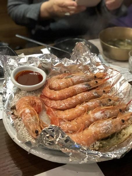 ソウルで絶品のエビを食べに行くよう~_b0060363_23271075.jpeg