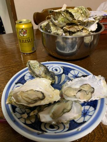 伊万里湾の牡蠣は最高_a0077071_16261027.jpg