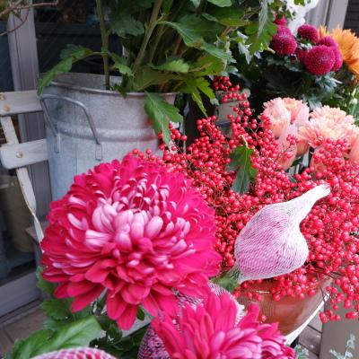 オークリーフ(今年最後のお店の花)_f0049672_07241679.jpg
