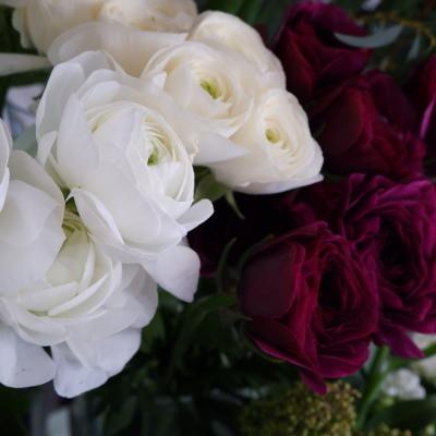 オークリーフ(今年最後のお店の花)_f0049672_07242989.jpg