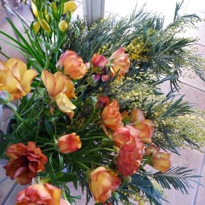 オークリーフ(今年最後のお店の花)_f0049672_07244056.jpg