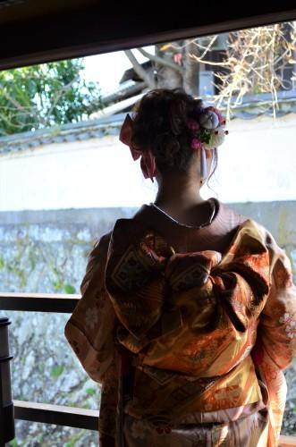成人式前撮り 姉妹で着物^^   🌸振り袖展も開催中です🌸_d0230676_17244732.jpg