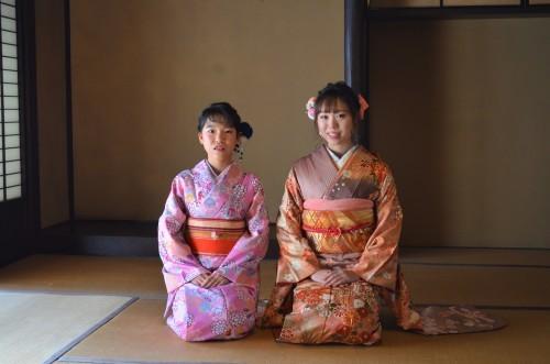 成人式前撮り 姉妹で着物^^   🌸振り袖展も開催中です🌸_d0230676_17250844.jpg