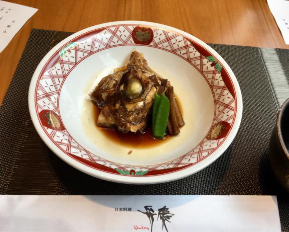 ホテル日航大阪 日本料理弁慶_d0339676_19000123.jpg