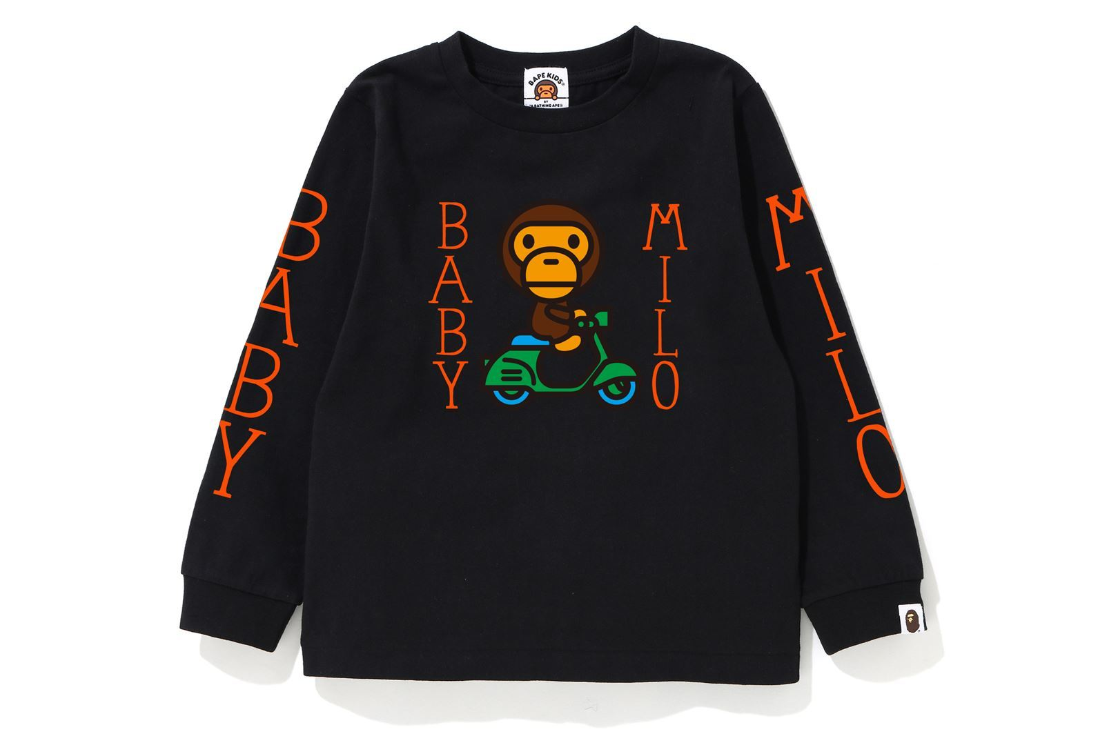 BABY MILO SCOOTER L/S TEE_a0174495_13195424.jpg