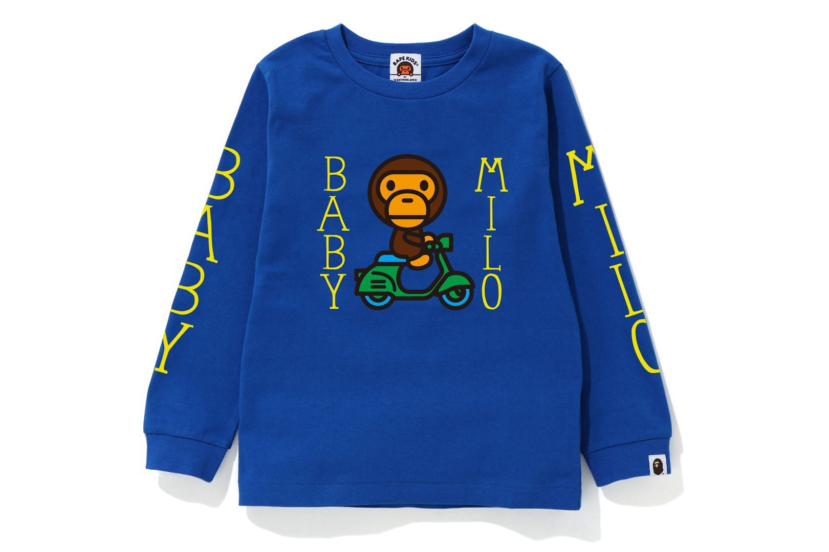 BABY MILO SCOOTER L/S TEE_a0174495_13200034.jpg